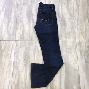 7 for all Mankind Mid-Rise Boot Jeans 27